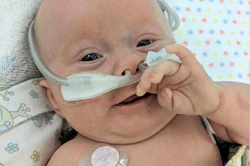 TRAGIC LOSS: Sarina bub Zoe Pitcher was always smiling. She passed away last month.