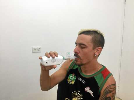 LEFT: Chris Hughes' jockey health program includes metabolic rate tests.
