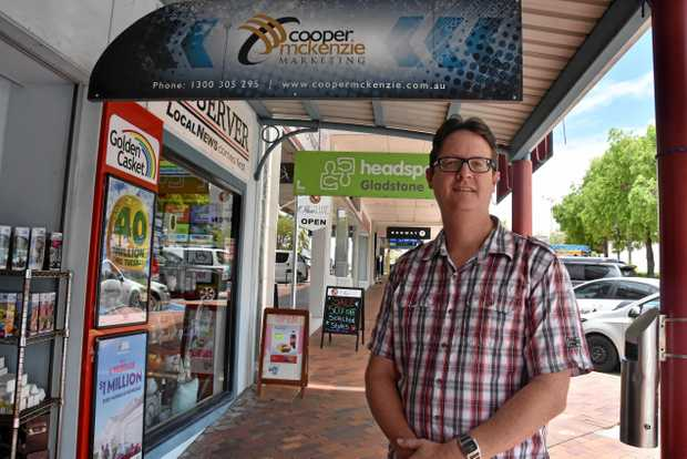 THINK LOCAL: GCCI president Carl Carter is encouraging Gladstone businesses and consumers to think local and support young workers.