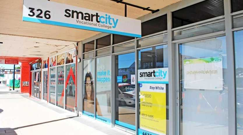 The now-closed SmartCity campus, which is up for lease.