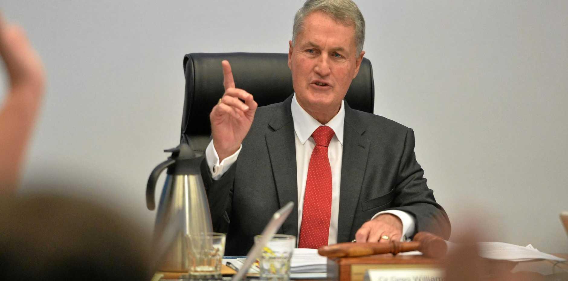 Mackay Regional Mayor Greg Williamson.