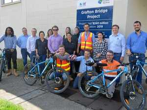 'Bridge Bandits' put in hard yards on the bike