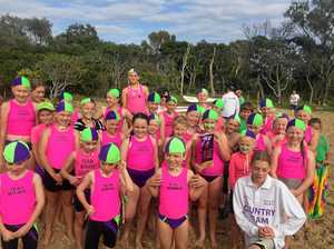 Strength in numbers for nippers at first carnival