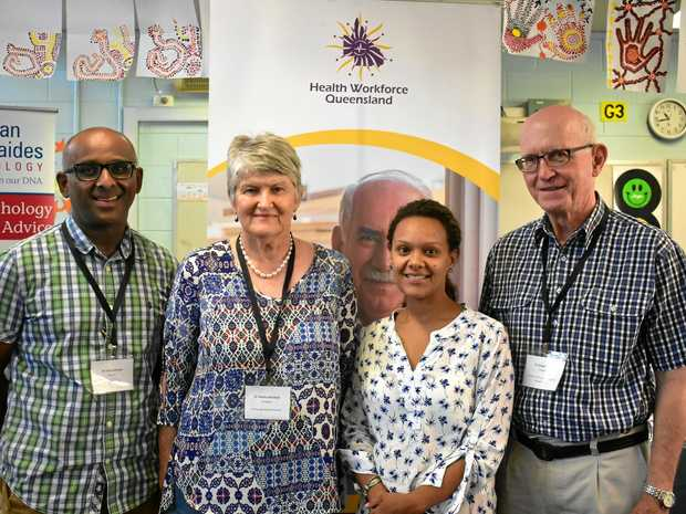 RURAL OPPORTUNITIES: Dr Tony Rahman, Dr Desley Marshall, Dr Karen Benn and Dr George Tucker.