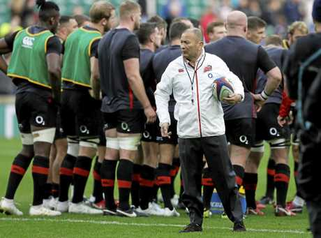 Eddie Jones has guided England up the world rankings. (AP Photo/Tim Ireland)