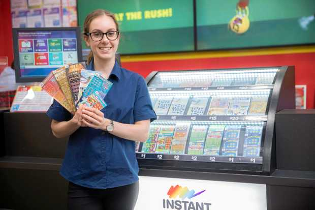 WOULDN'T IT BE NICE: A Kingaroy woman (not pictured) won $10,000 on an Instant Scratch-Its ticket.