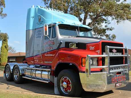 Pattens of Leeton's immaculately restored International Transtar.