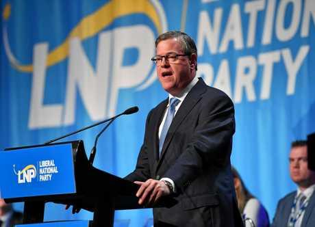 Queensland LNP leader Tim Nicholls.