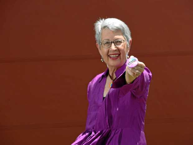 YES WE CAN: Former Lismore mayor Jenny Dowell will be on site today as Lismore expects a large crowd for the announcement of the same sex marriage survey.