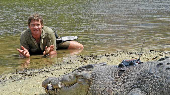 LEGEND: Steve Irwin the Crocodile Hunter.