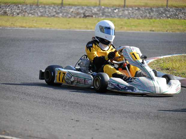 WINNER: William Seccombe came first in Lismore Kart Club's TAG 125 Restricted Light Class on Sunday.