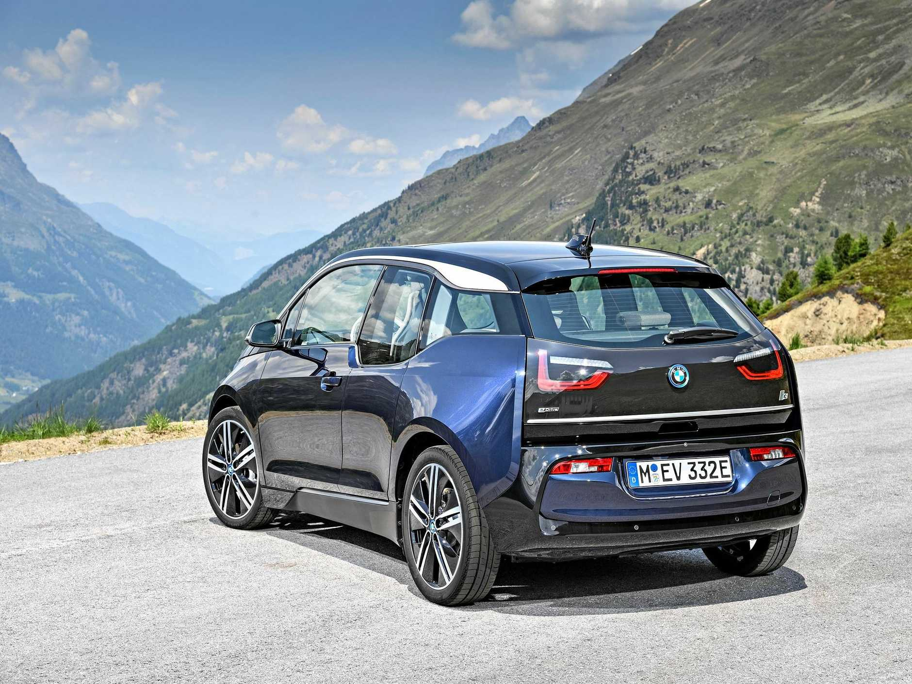 The 2018 BMW i3 will be in dealerships from January.