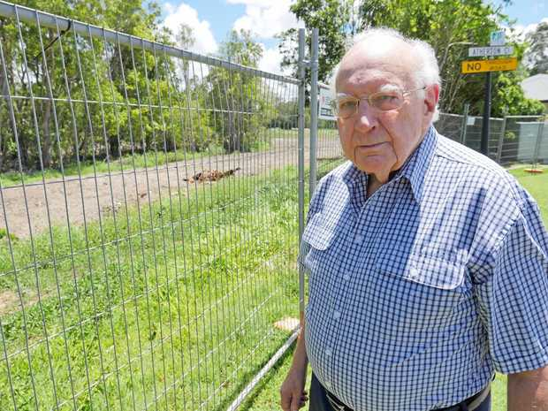 FIGHT FOR CHANGE: Atherton Close's Frank Gerhard wants a potential second entrance to the Rainforest Sanctuary estate in Buderim removed from the town plan.
