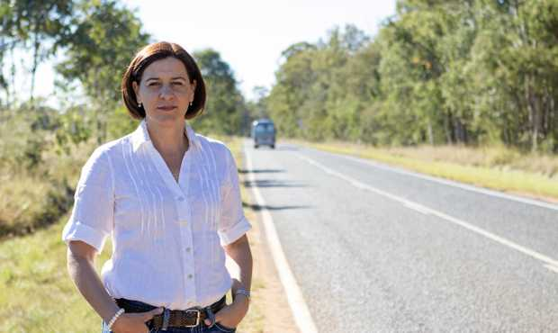 LNP deputy leader Deb Frecklington last night confirmed Collinsville would be the preferred location for the new power station
