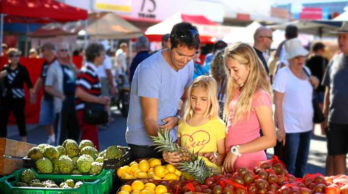 The Caloundra Street Fair has been a popular event for 15 years.