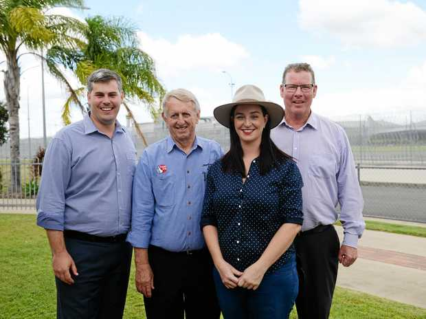 Minister for Police Mark Ryan, Member for Mirani Jim Pearce, Member for Keppel Brittany Lauga and Labor Candidate for Rockhampton Barry ORouke will makeover the Capricornia Correctional Centre.