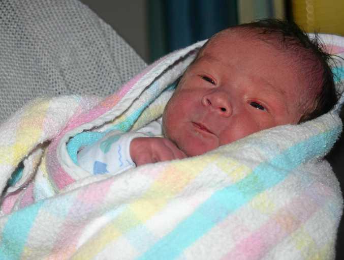 NEWBORN: Judd John Watterston at Gladstone Hospital.