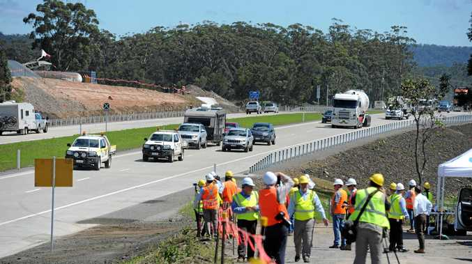 The 10 kilometre Woolgoolga to Halfway Creek upgrade to the Pacific Highway was opened in late October.