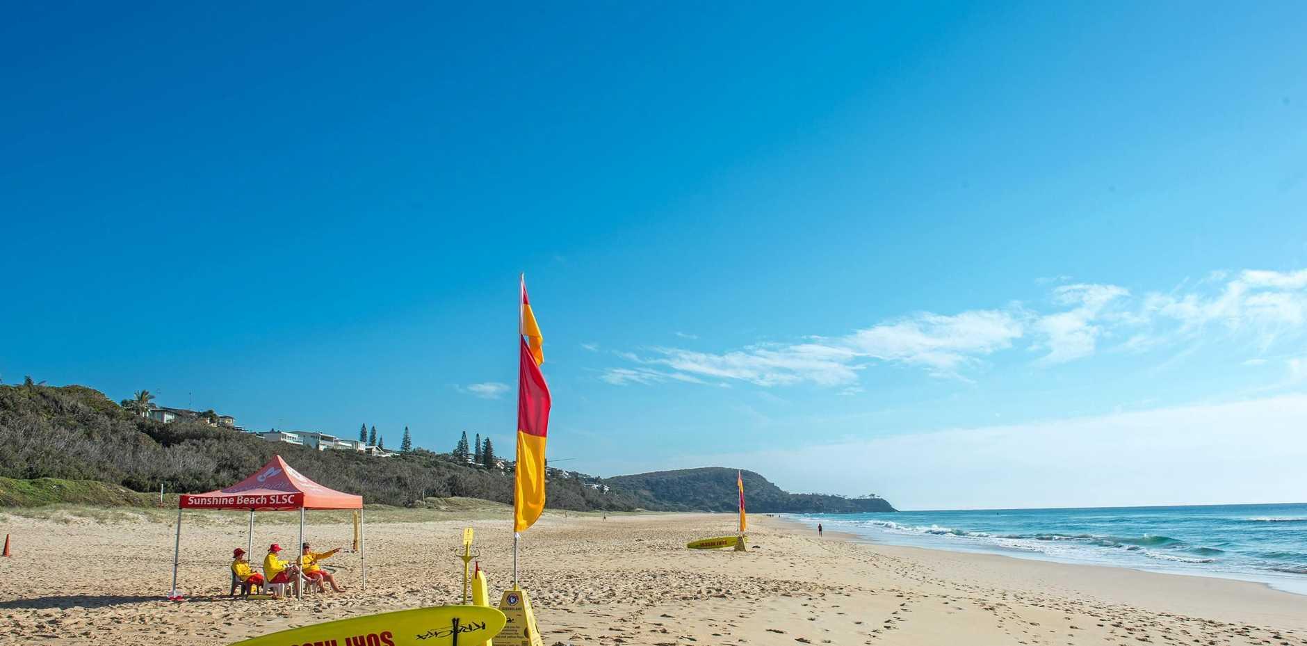 RESCUE SCENE: Sunshine Beach.