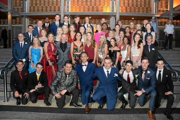 The Saint Mary's Catholic College class of 2017 at their formal.