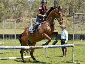 Olympian passes on knowledge to Toowoomba riders