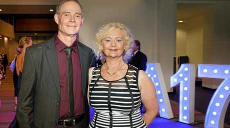 BRONZED: Gary and Trudy Grant at the Queensland Tourism Awards last Friday.