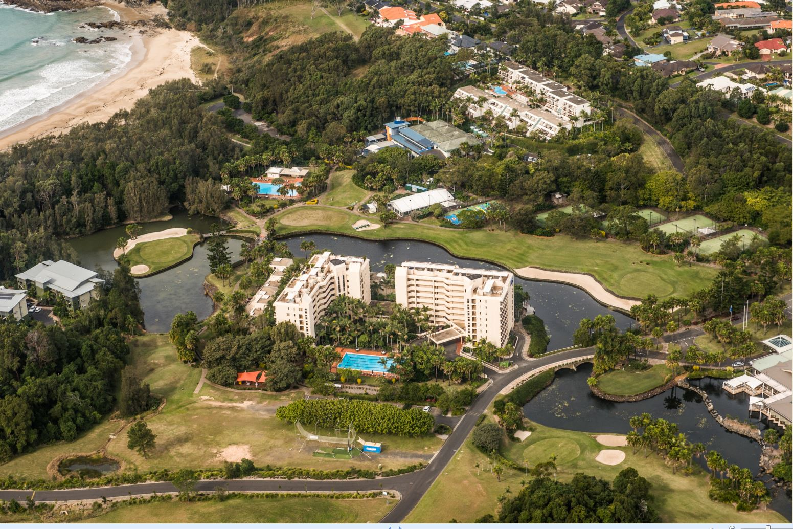 Pacific Bay Resort has been purchased by Peter Montgomery, owner of the Bonville Golf Resort.