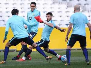 Socceroos vs Honduras