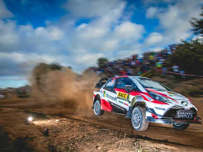 ACTION: Spectacularly fast new-era Ford, Hyundai, Toyota and Citroën cars will be on track at the FIA World Rally Championship 2017.