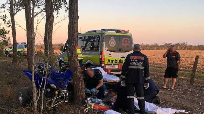 SAFETY RISKS: More than people have been killed in Australia in quad bike accidents since 2011 and many more were seriously injured.
