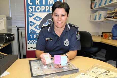 Senior Constable Melanie Ryan, coordinator of the Maryborough Patrol Group Crime Prevention.