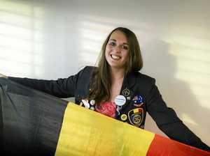 Belgian student calls Grafton home