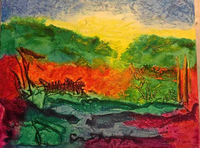 Abstract Landscape by Jan Richards.