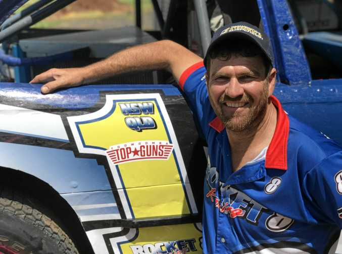 New South Wales and Queensland modified sedan champion, Rodney Pammenter gets behind the Toowoomba Top Guns initiative.