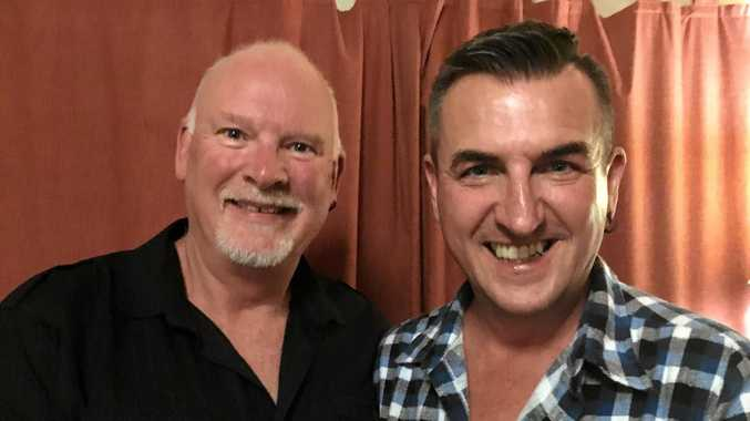 Phil Wakeling and Rick Buckmaster of Nymboida are ecstatic about the 'yes' vote for marriage equaility.