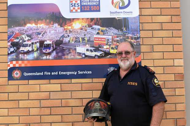 WEALTH OF EXPERIENCE: John Newley in front of the SES headquarters in Warwick.