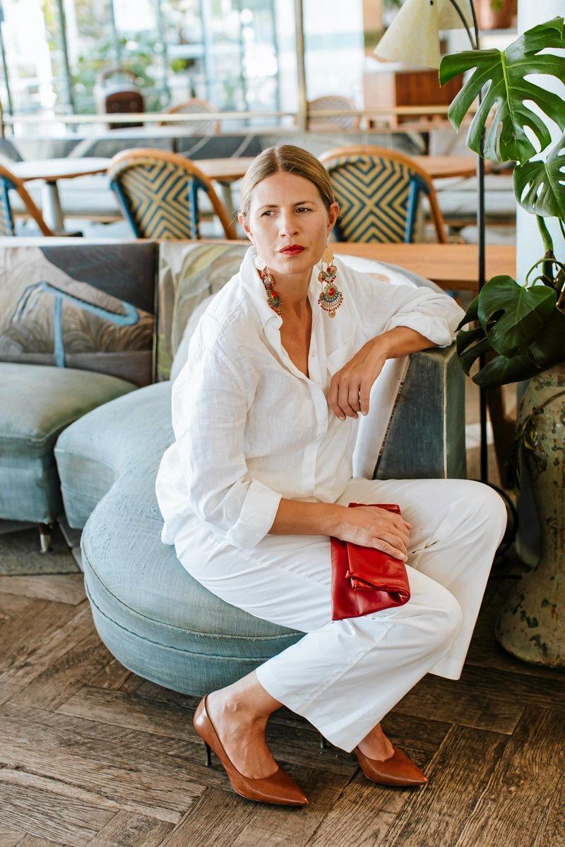 Bespoke leather clutch/handbag company Karmme. For Gold Coast Eye Fashion. Photos by Luisa Brimble