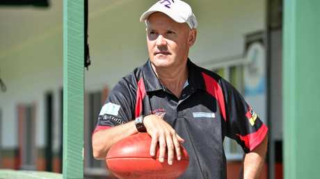 New Bombers coach - Kevin Brown.  Photo: Alistair Brightman / Fraser Coast Chronicle