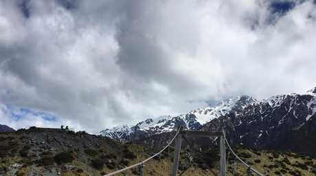 Hooker Valley Track New Zealand Mt Cook.