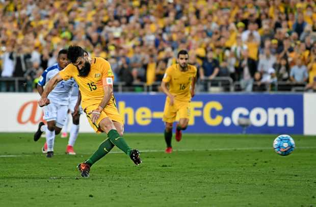 Mile Jedinak bags hat-trick as Australia seal World Cup spot