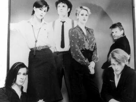 The Human League during the Dare era, in May 1982.
