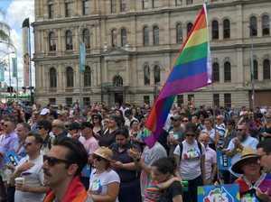 'Thank you Australia': Brisbane celebrates yes win