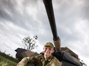 Toowoomba man at the cutting edge of army's strike force