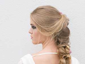 DIY formal hair