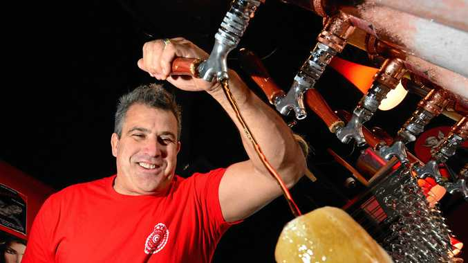 PERFECTING CRAFT: Dimitris Limnatitis of Solbar is gearing up for the Beer and Cider Festival.