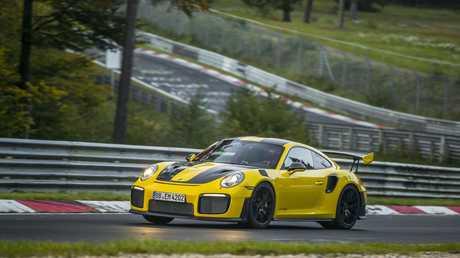 The Porsche 911.