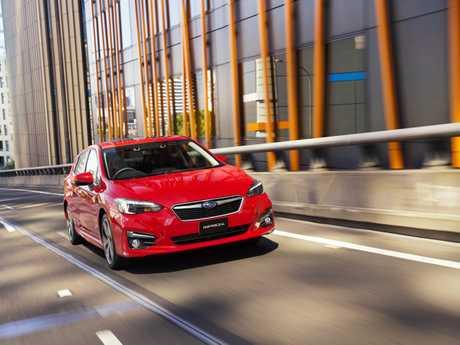 The Subaru Impreza 2.0-S.