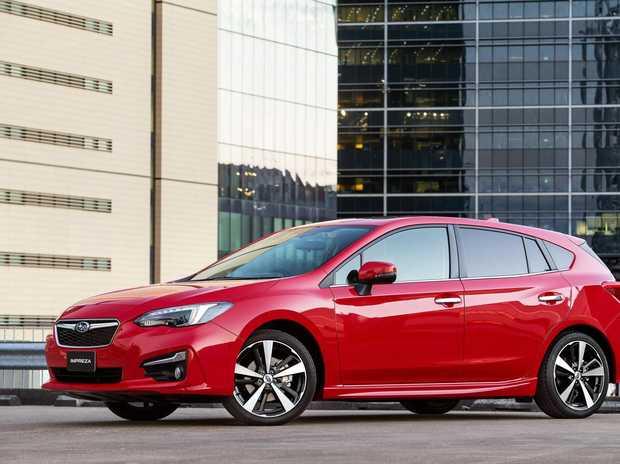 Subaru's Impreza 2.0-S.