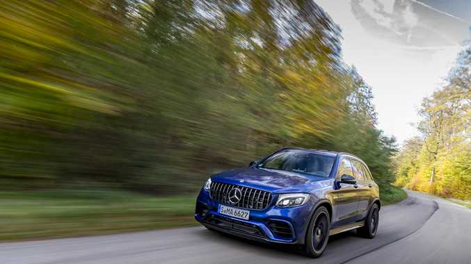 Coming next year to Australia is the Mercedes-Benz AMG GLC 63 S.