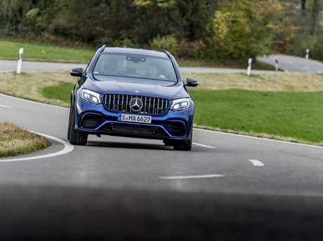 The Mercedes-Benz AMG GLC 63 S.
